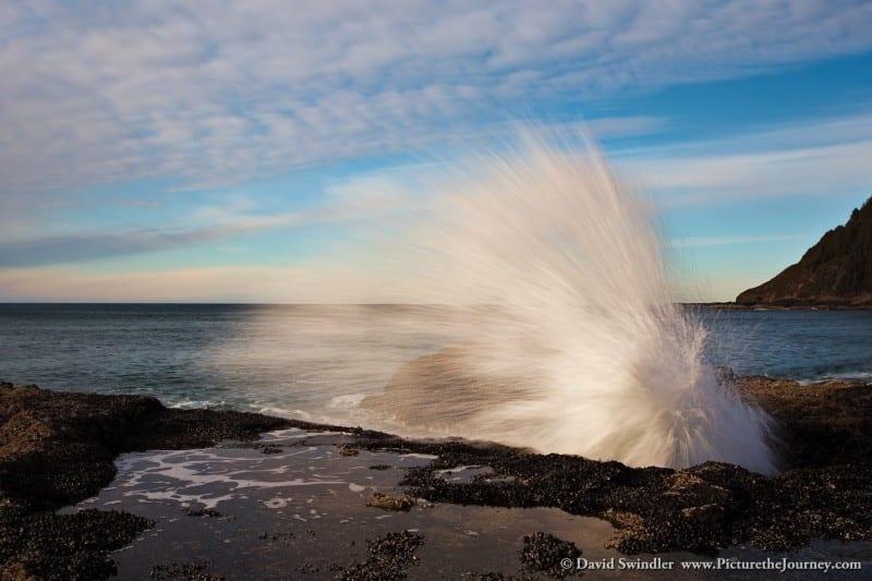 Cape Perpetua Wave Action