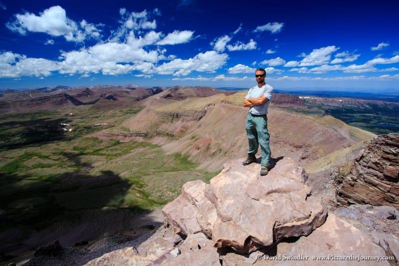 Top of Kings Peak