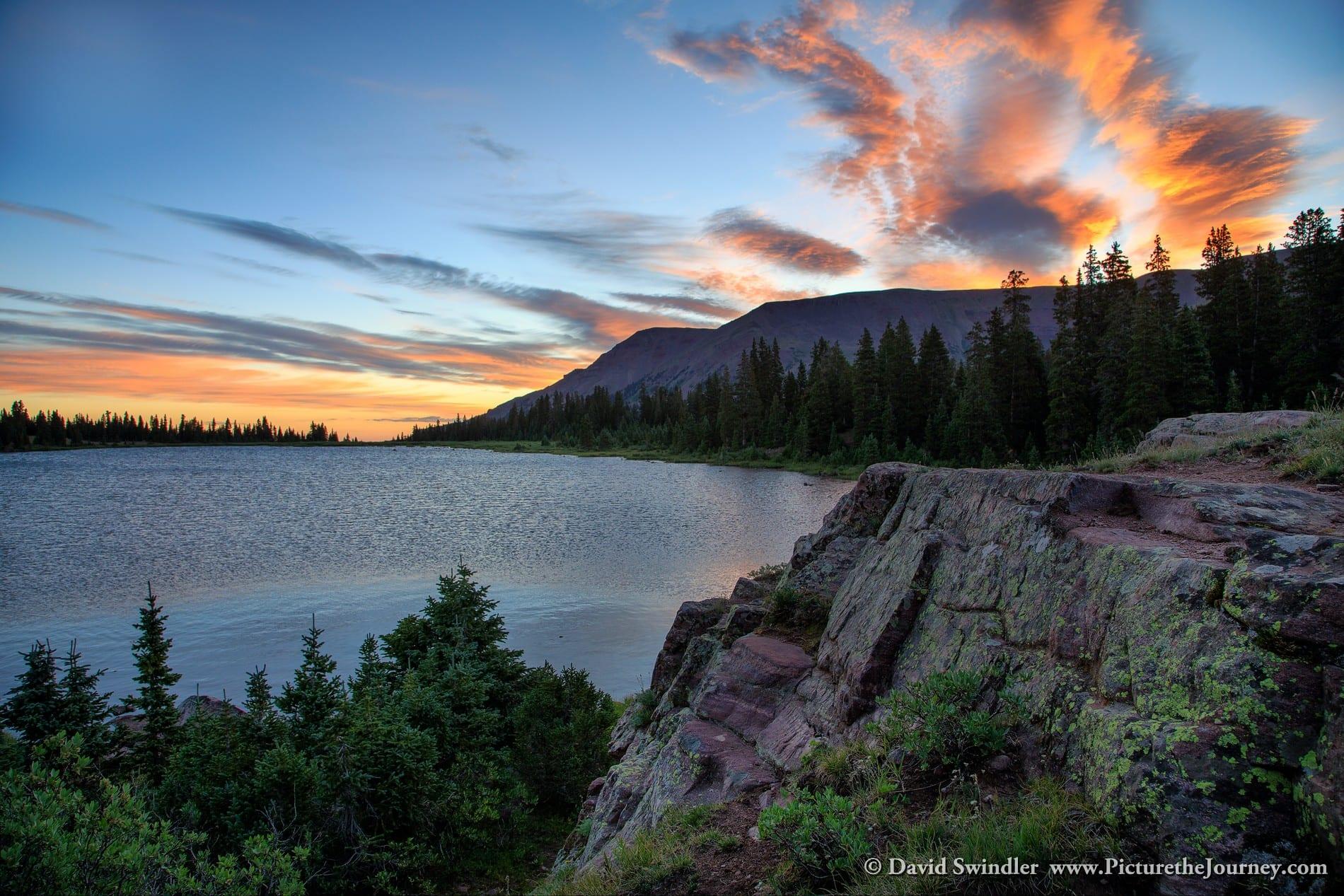 Henry's Fork Lake Sunrise
