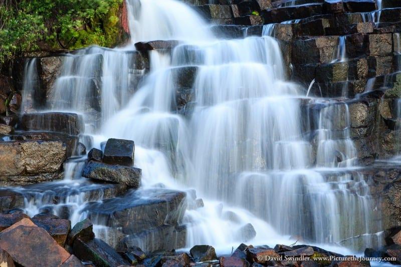 Waterfall near Henry's Lake