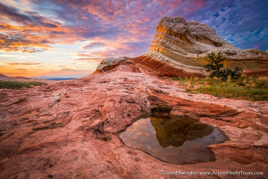 Colorful Sunset at White Pocket