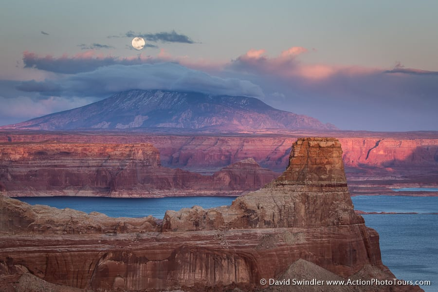 Moonrise Alstrom Point Lake Powell