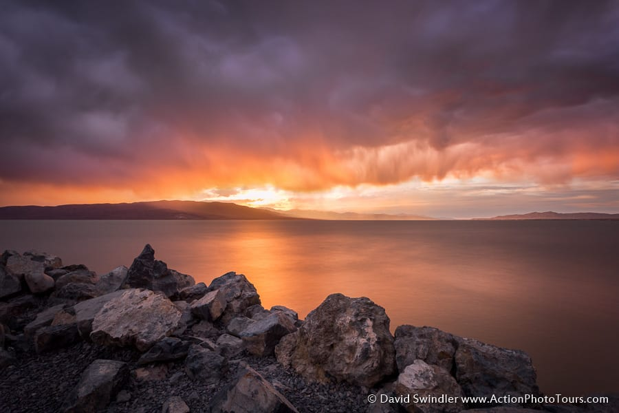 Storm Clouds Over Utah Lake