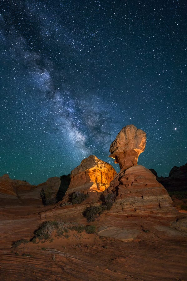 South Coyote Buttes Milky Way