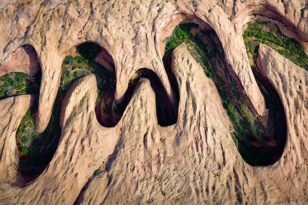 Meandering Canyon Utah Photo