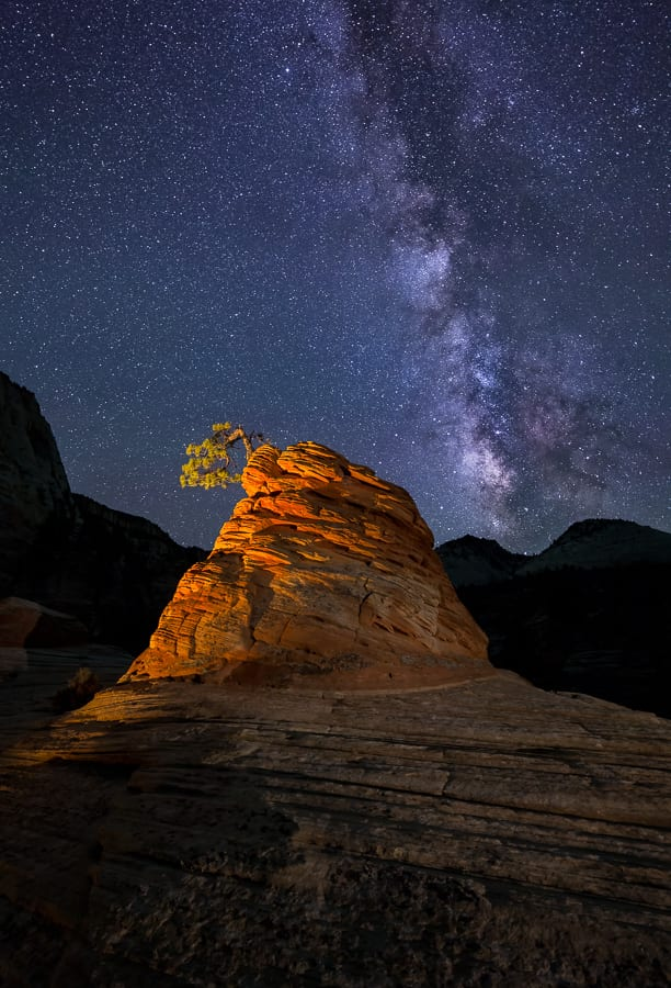 Zion Night Photography Tour