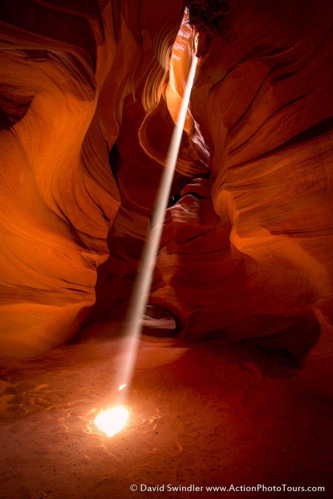 Antelope Canyon Light Beams