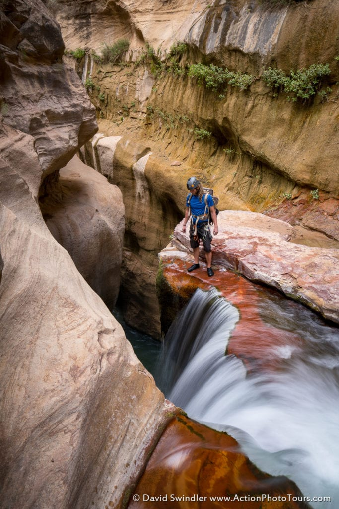 Labyrinth Falls Zion