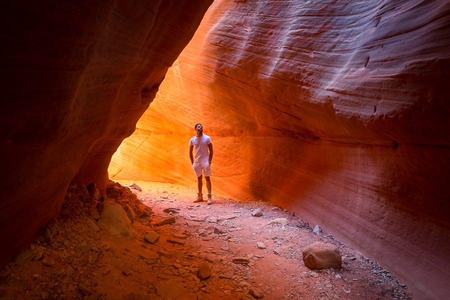 Slot canyon tours utah