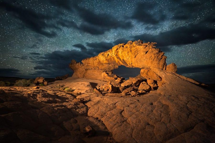 Sunset Arch Escalante Photo Tour