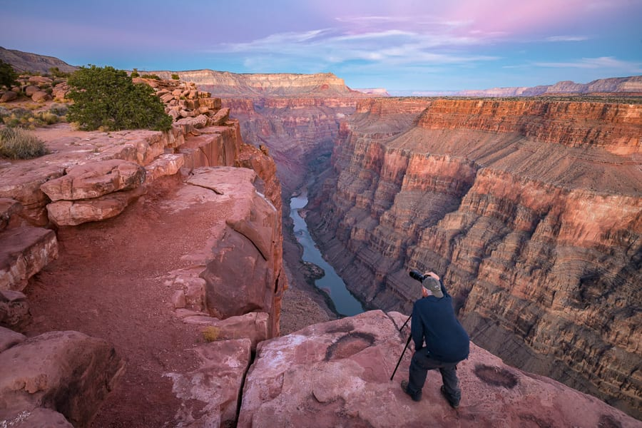 Photographing Toroweap Tuweap Grand Canyon