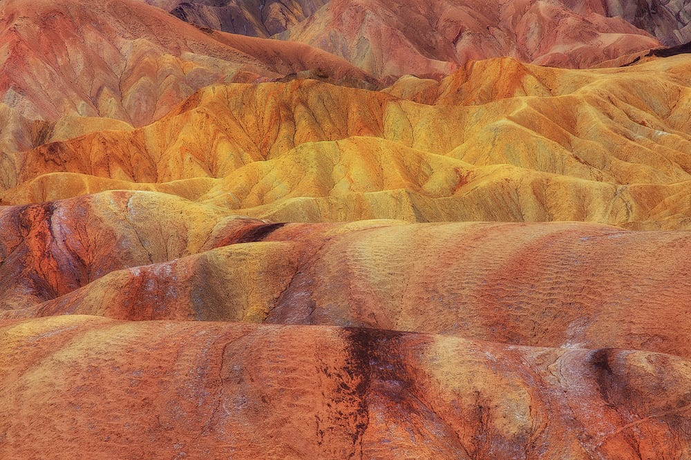 Abstract Zabriske Death Valley Photo Workshop