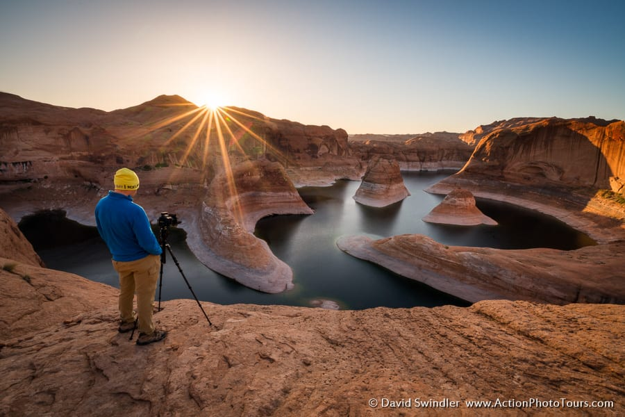 Photographing Reflection Canyon