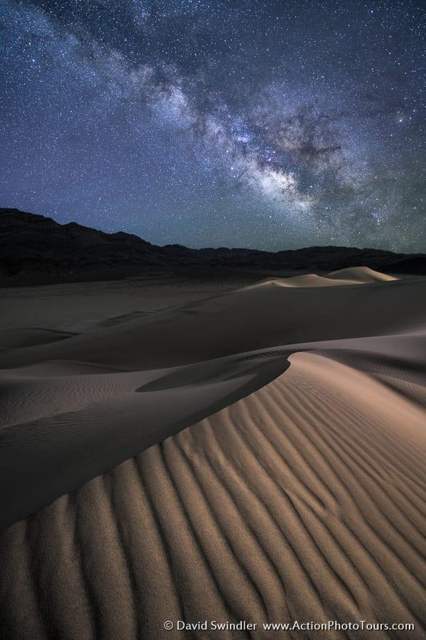 Sand Dunes Milky Way Death Valley Photo Workshop