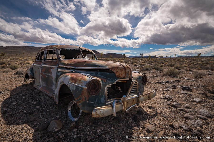 Old Car Death Valley Photo Workshop