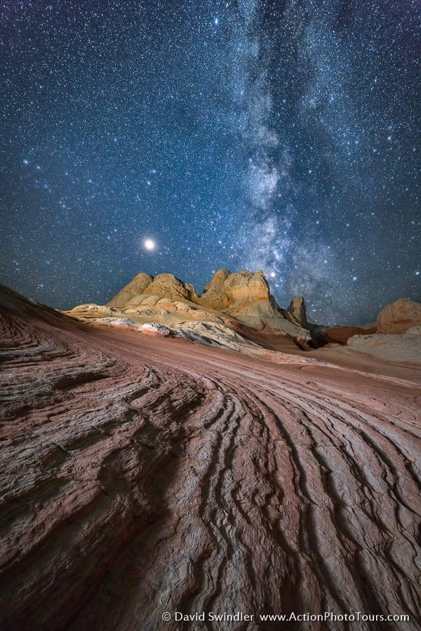 White Pocket Milky Way Photo Workshop