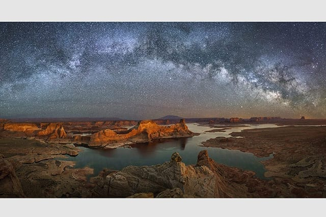 Alstrom Point Milky Way Pano Overnight Photo Tour