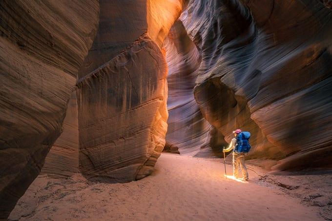 Paria Canyon Adventure Buckskin Gulch Action Photo Tours