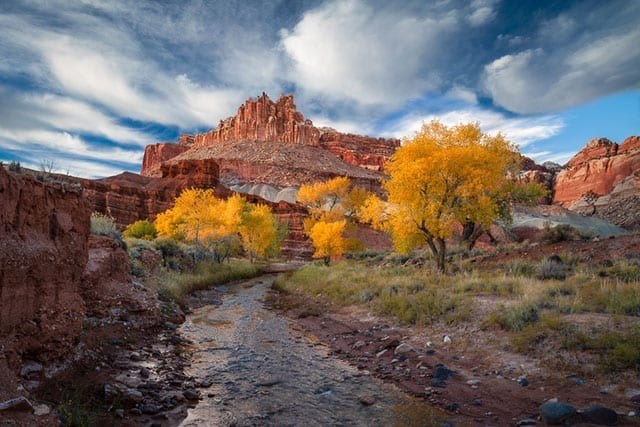 Southern Utah Fall Colors Workshop Autumn Capitol Reef Zion
