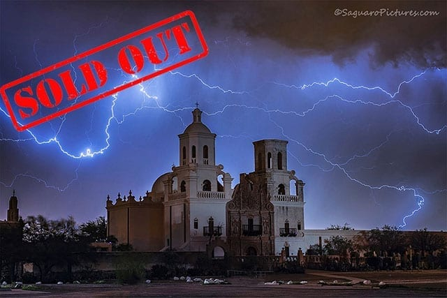 Storms and Saguaros Sold Out