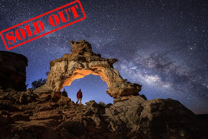The Milky Way and Beyond Night Photography Workshop Utah Action Photo Tours