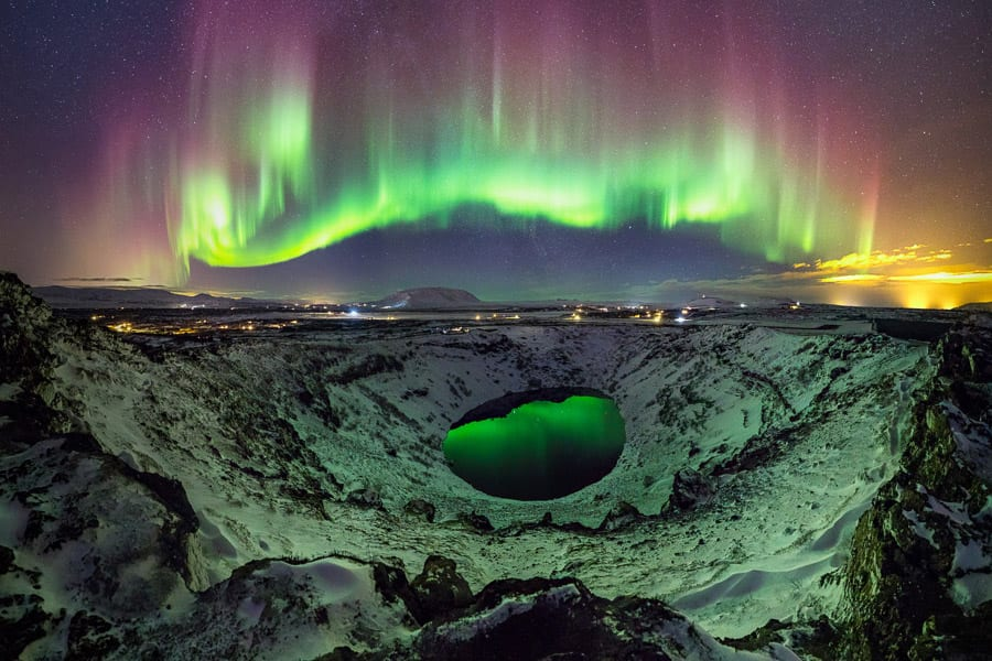 Iceland Photo Workshop Winter Aurora Borealis Photography