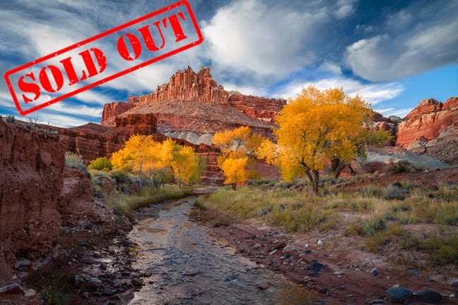 Southern Utah Fall Colors Sold Out