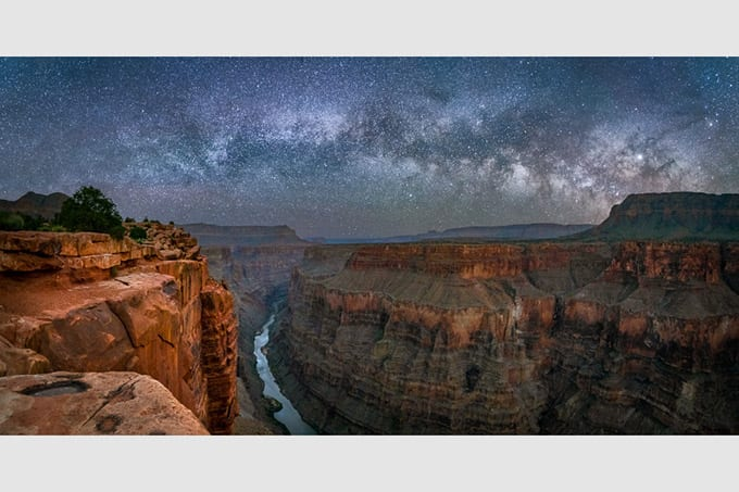 Toroweap Milky Way Pano Action Photo Tours
