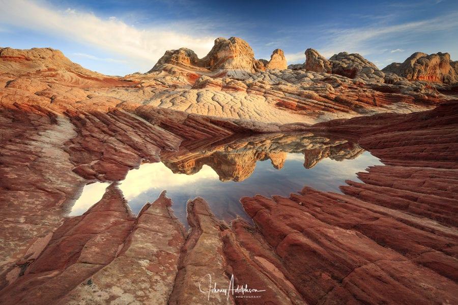 White Pocket Reflection Southwest Shootout Photo Workshop Utah Photo Tours