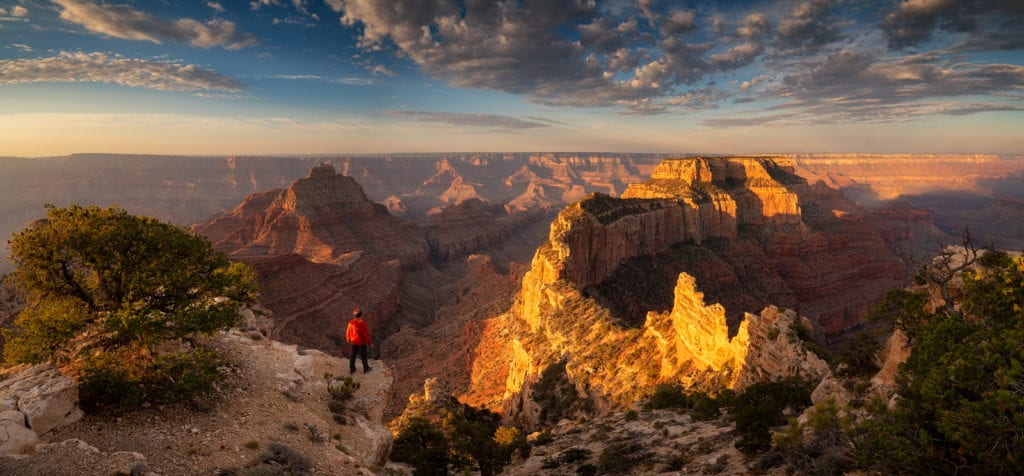 Jeff Moore Wotons Throne Grand Canyon Pano