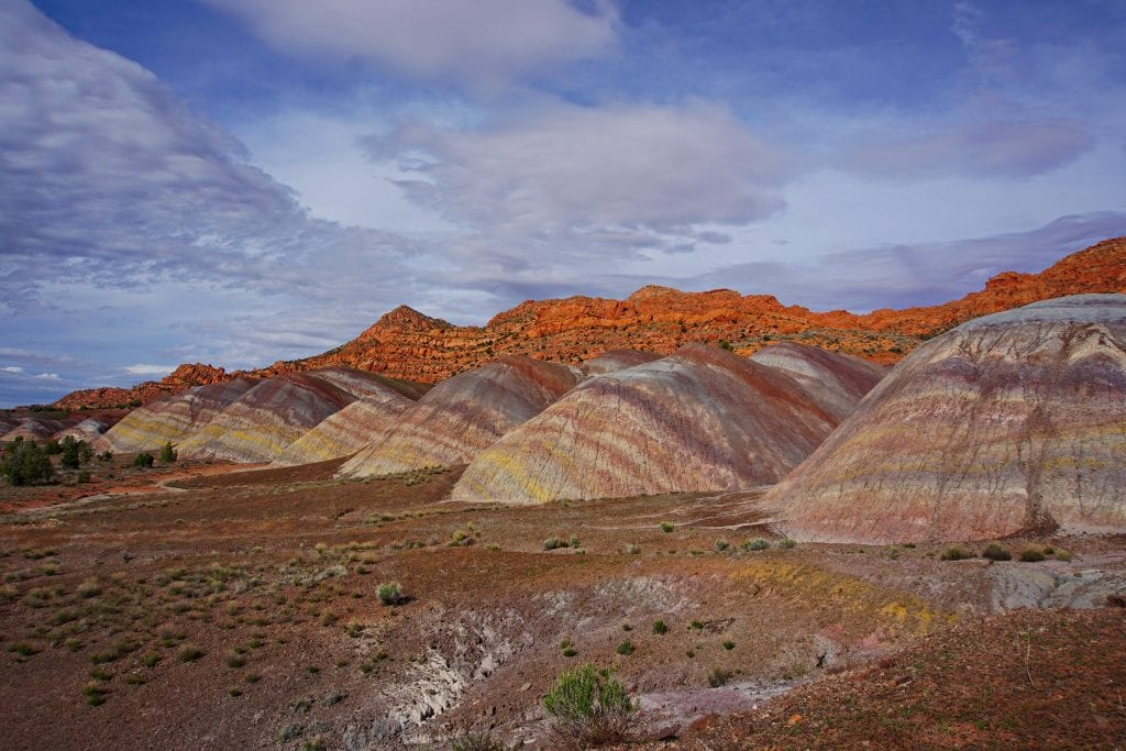 Kathleen Gardner Colorful Badlands
