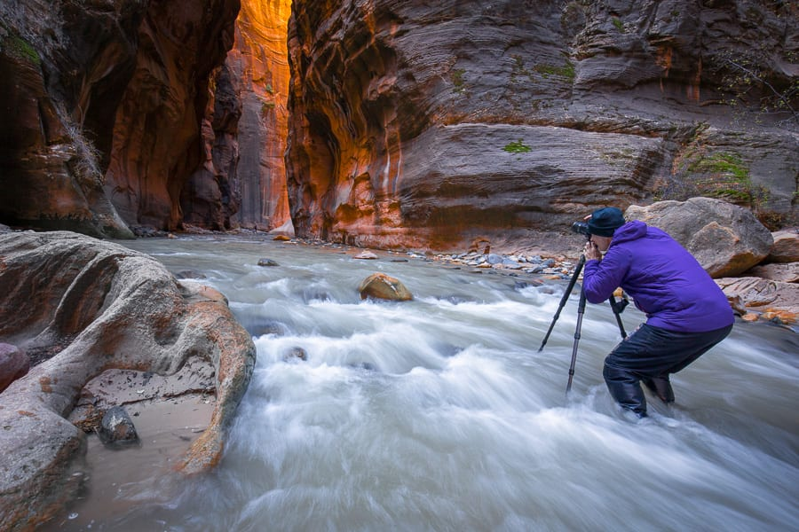 Photographing the Narrows Canyon Colors Workshop