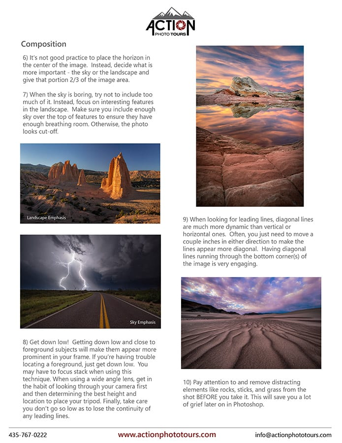 Landscape Photography Handout Page 10 copy