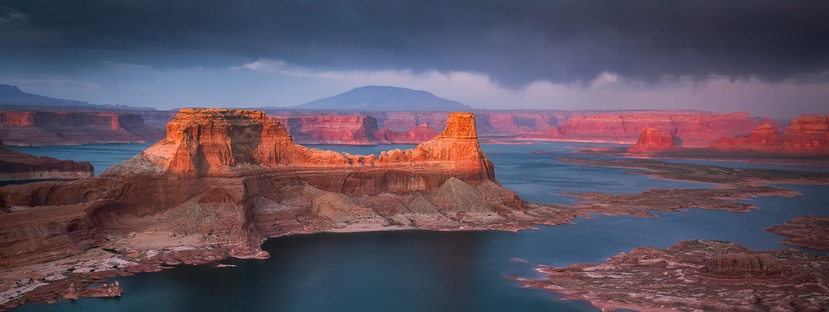 Alstrom Point Lake Powell Sunset