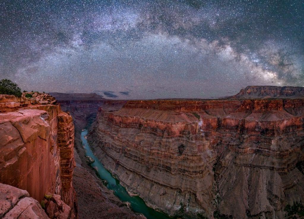 Toroweap Grand Canyon Milky Way Panorama Sequator Procedure