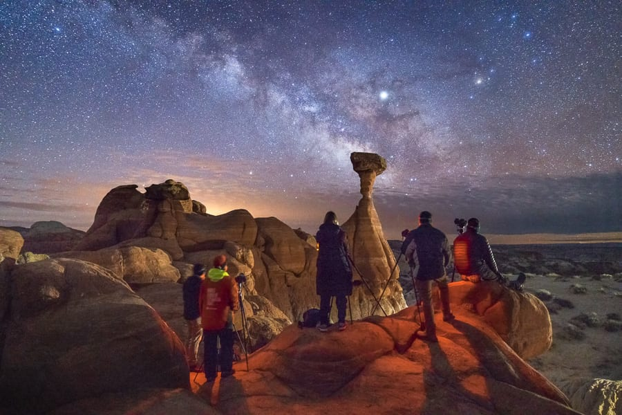 Grand Staircase Escalante Night Photo Tours Utah
