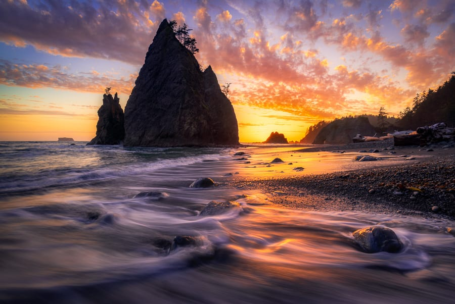 Preparing Images for Print Rialto Beach Olympic National Park