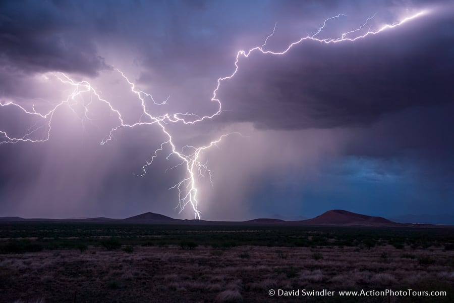 Storm Chasing Photo Workshop Storms and Saguaros