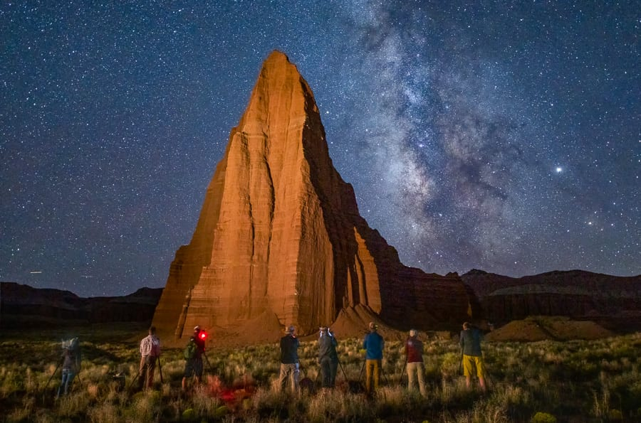 Beyond the Badlands Photo Workshop Utah Milky Way Night Photography