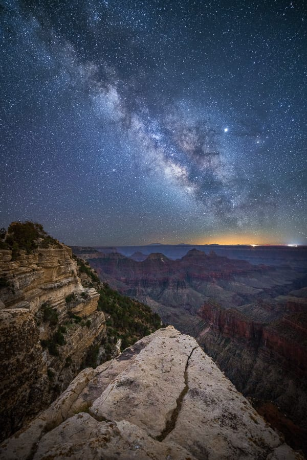 Grand Canyon Photo Workshop Milky Way Night Photography North Rim