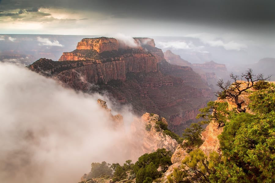 Grand Canyon Monsoon Season Photo Workshop Photography Wotons Throne
