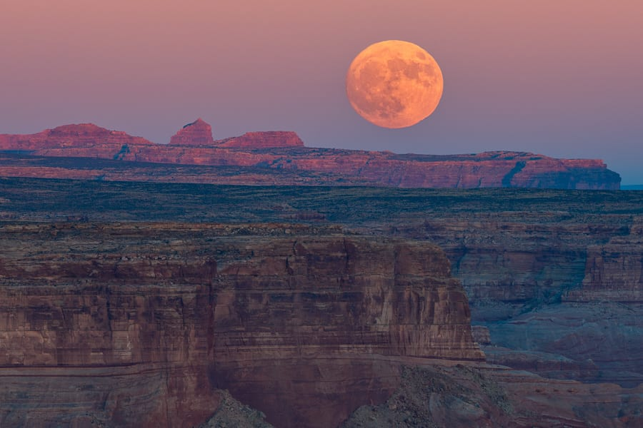 Southwest Shootout Alstrom Point Moonrise