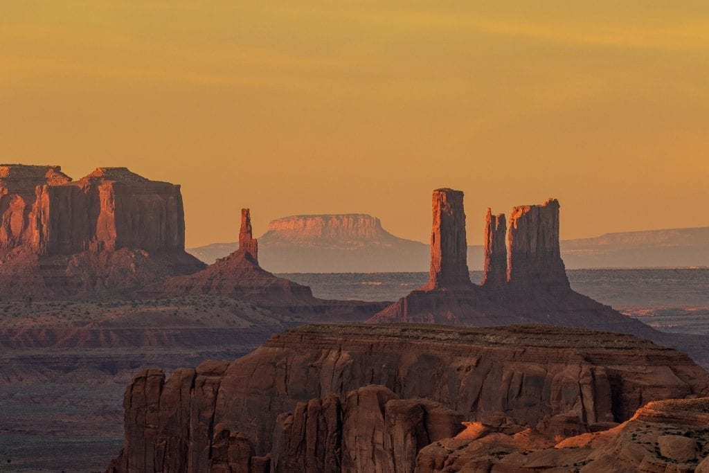 Monument Valley from Hunts Mesa