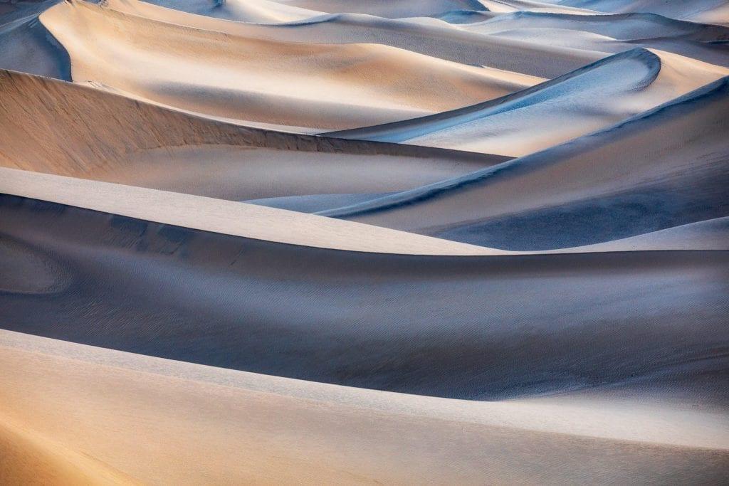 Mesquite Flat Sand Dunes . John Pearse