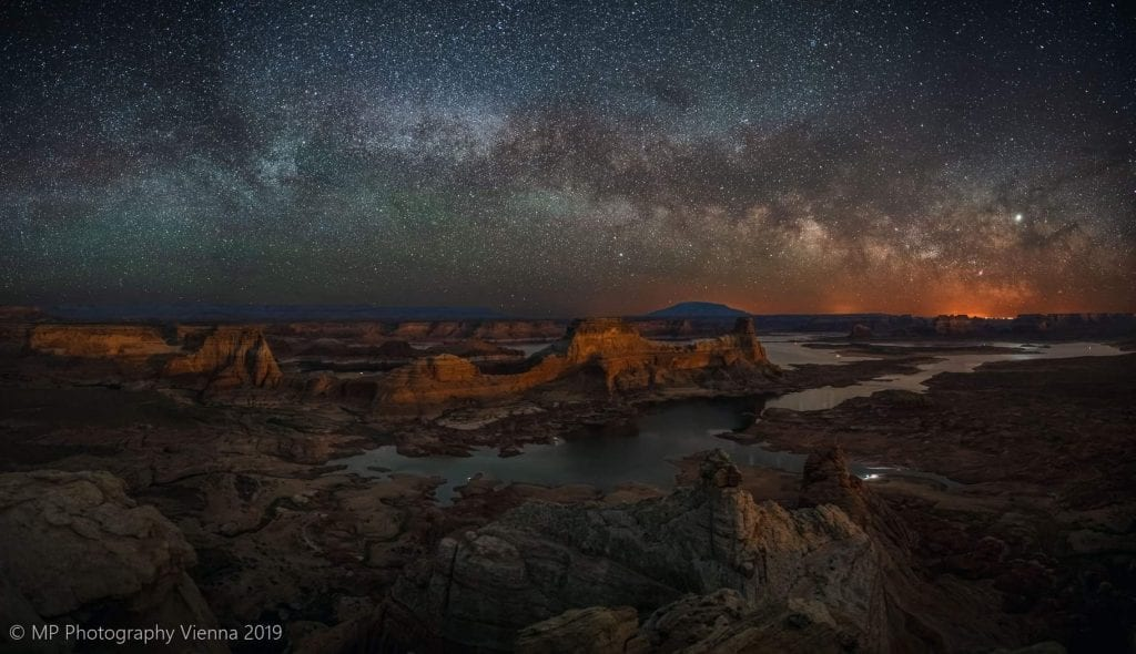 Max Paul Milky Way over Grand Canyon
