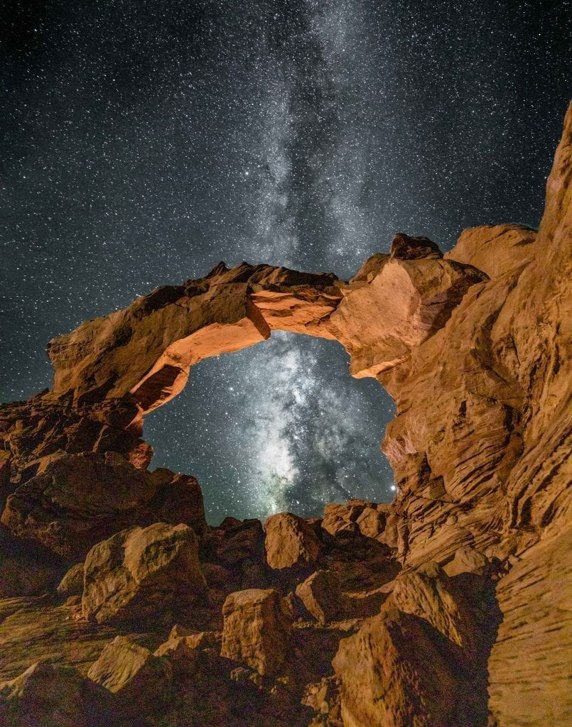 Paul Whitworth Arsenic Arch - Poison Springs Canyon, Utah