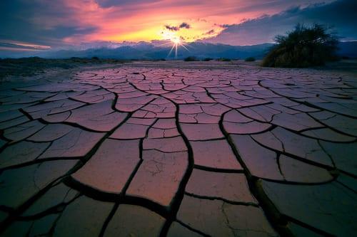 Death Valley Photo Workshop Mud Cracks