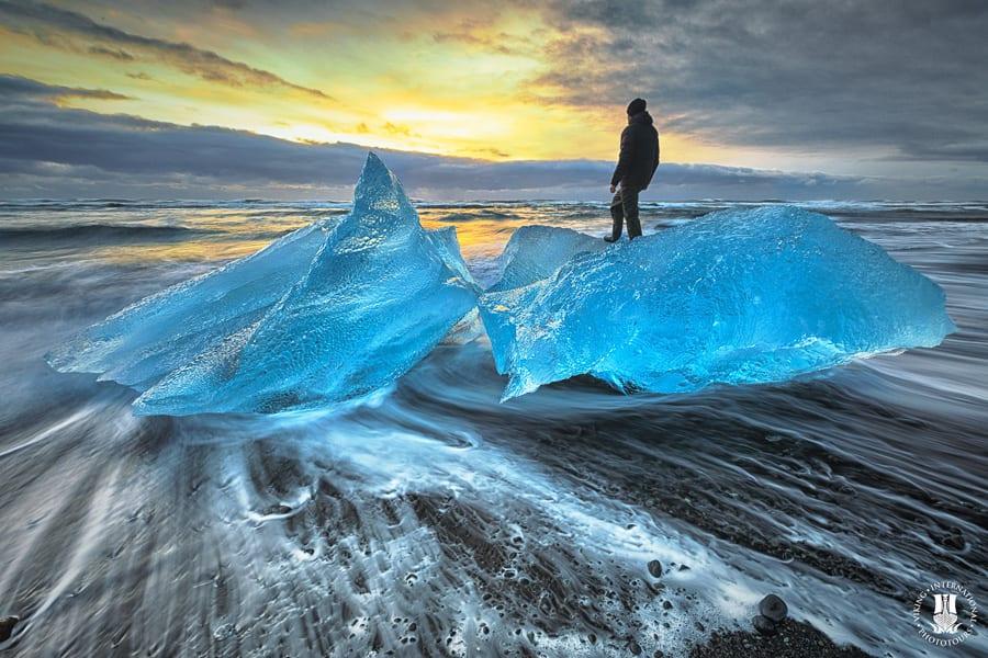 Iceland Winter Photo Workshop Iceberg