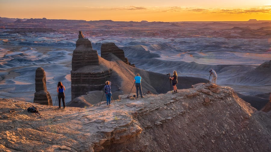 Utah Badlands Photography Workshop Action Photo Tours