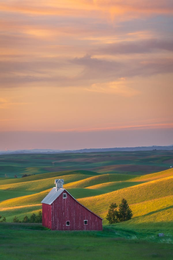 Palouse Photo Workshop Spring Barn